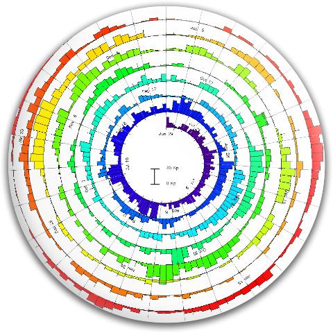 Condegram Spiral Plot MVP Neutron Medium Ion Putter Disc