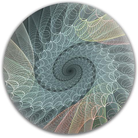 Classic Spiral Swirl MVP Neutron Medium Ion Putter Disc