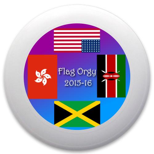 Flag Orgy Innova Pulsar Custom Ultimate Disc