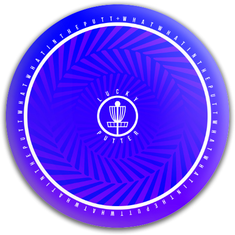 What What in the Putt Dynamic Discs Fuzion Judge Putter Disc