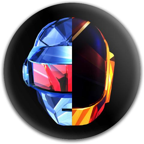 Daft Punk 2 Latitude 64 Gold Core Disc