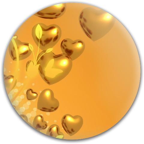 Heart of Gold Dynamic Discs Fuzion Verdict Midrange Disc