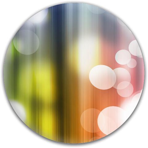 Rainbow Bubbles Dynamic Discs Fuzion Verdict Midrange Disc