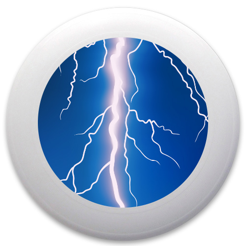Lightning Bolt Innova Pulsar Custom Ultimate Disc