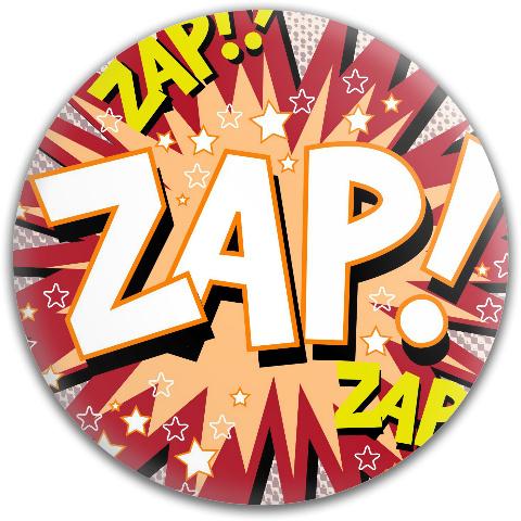 Zap! Dynamic Discs Fuzion Judge Putter Disc