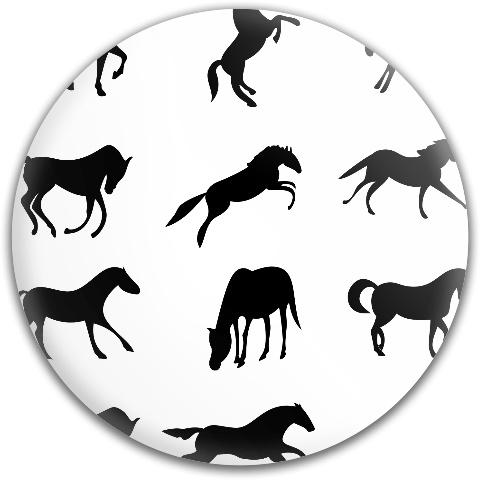 Horses Dynamic Discs Fuzion Judge Putter Disc
