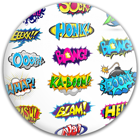 Pow Boom Zap! Dynamic Discs Fuzion Judge Putter Disc