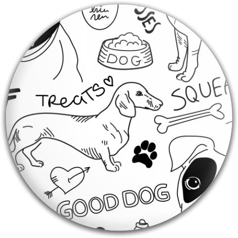 Good Dog Dynamic Discs Fuzion Judge Putter Disc