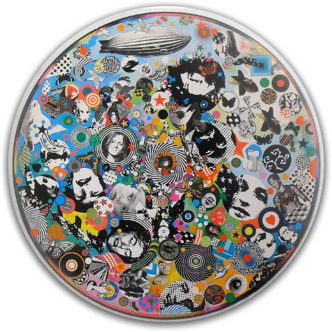 Led Zeppelin 3 Latitude 64 Stiletto Driver Disc