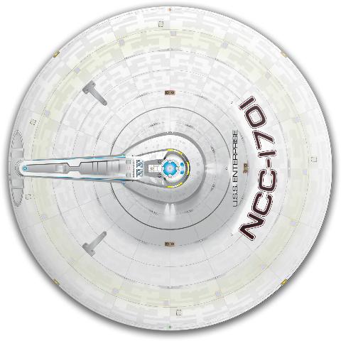 Enterprise NuTrek Dynamic Discs Fuzion Judge Putter Disc
