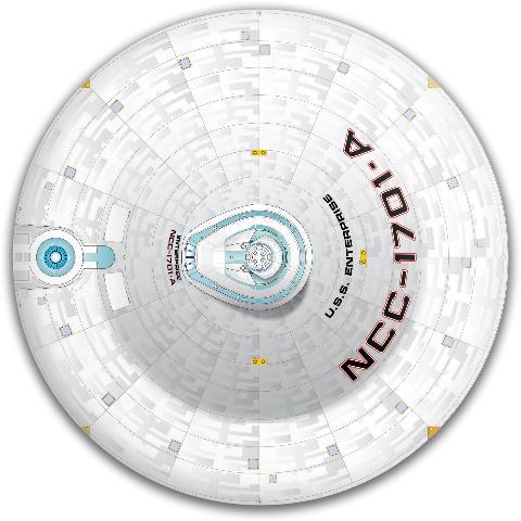 Enterprise A Dynamic Discs Fuzion Judge Putter Disc