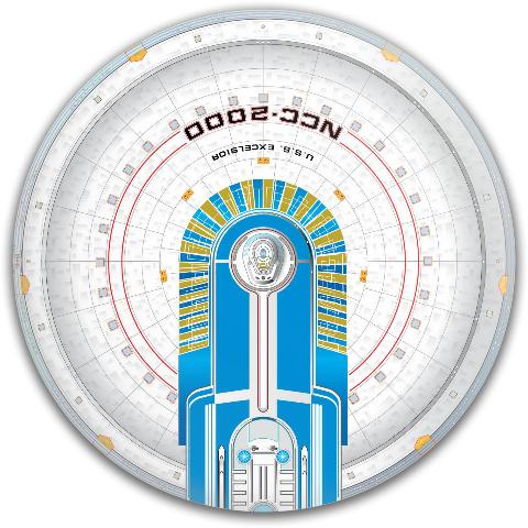 Excelsior Dynamic Discs Fuzion Judge Putter Disc