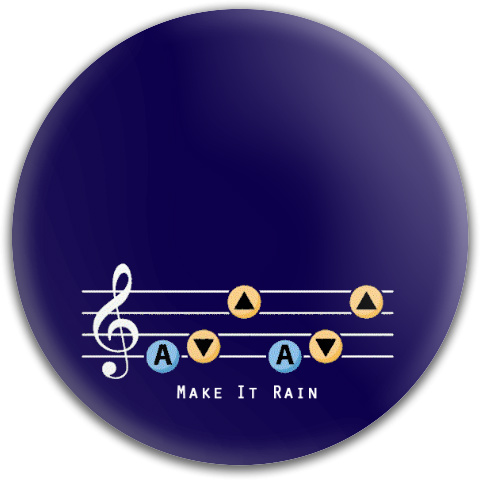 Make It Rain Dynamic Discs Fuzion Judge Putter Disc