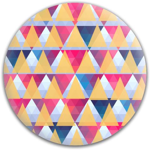 4 Triangles Dynamic Discs Fuzion Judge Putter Disc