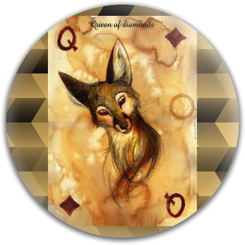 Queen of diamonds Dynamic Discs Fuzion Justice Midrange Disc