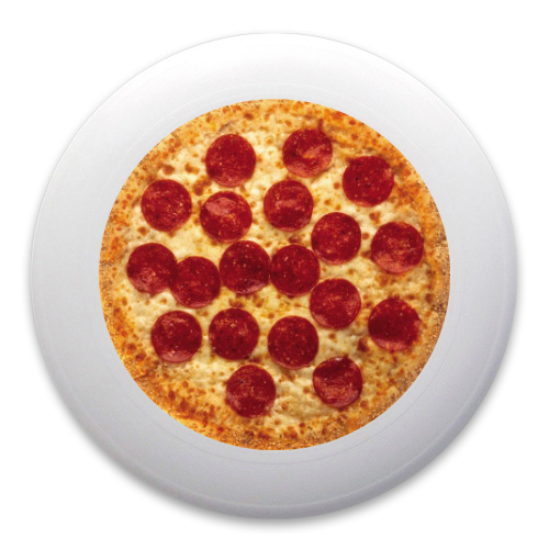 Personal Pan Pizza Ultimate Frisbee