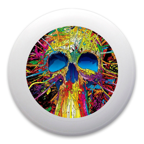 Skull Splatter Ultimate Frisbee