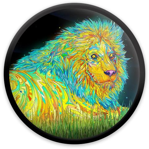 Lion Psychadelic MVP Neutron Resistor Driver Disc