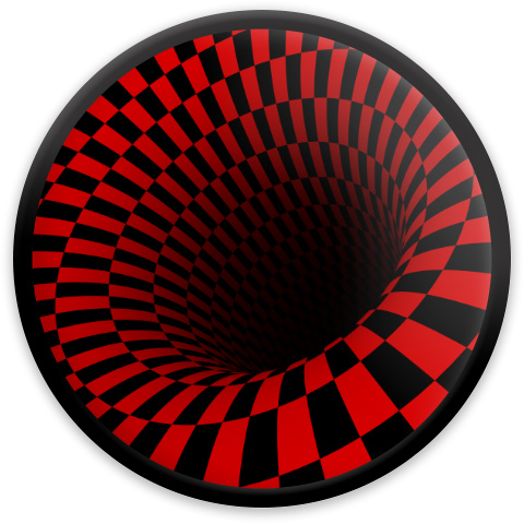 Optical Illusion Black Hole MVP Neutron Resistor Driver Disc