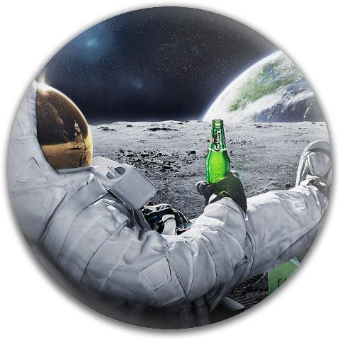 Space Brew Dynamic Discs Fuzion Judge Putter Disc