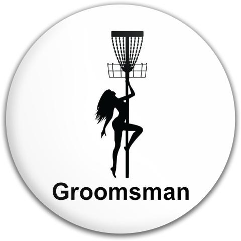 Groomsman Bachelor Party Disc Latitude 64 Gold Line Culverin Driver Disc