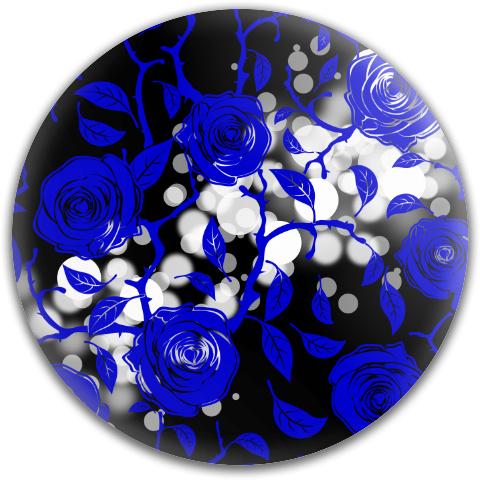Blue Rose Symphony Dynamic Discs TP Sling Midrange Disc